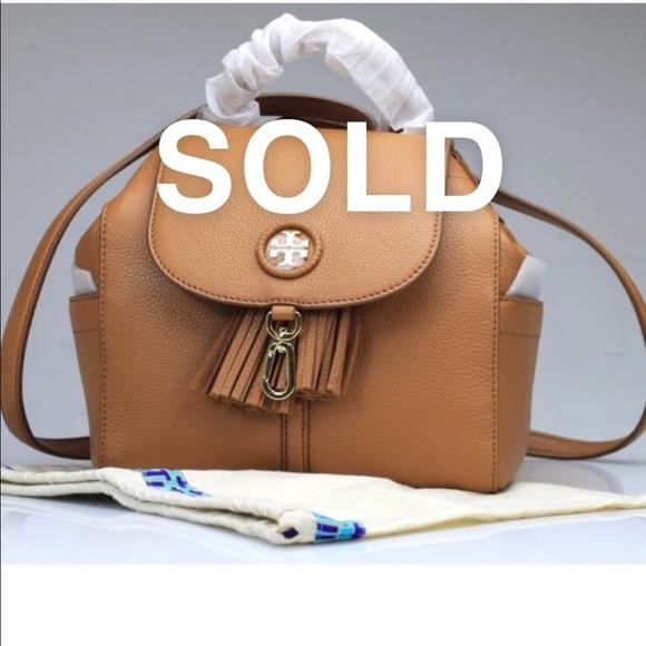 1da3a04e71c Tory Burch Whipstitch Mini Backpack